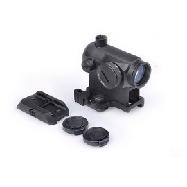 T1 Red/Green Dot With QD Mount & Low Mount