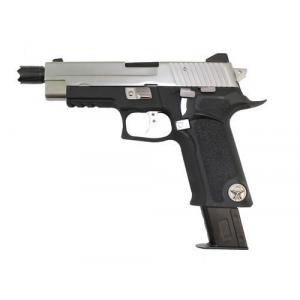 Pistola F226 P Virus Black/Silver WE