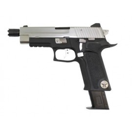 Pistola F226 P Virus Black/Silver WE