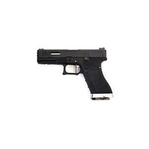 Pistola E Force EU19 bk (black slide and silver barrel) WE