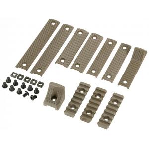 Rail panel kit URX3 type handguard tan