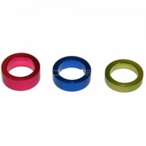 PTW aluminium spring guide collars (set 3 - 3mm/4mm/5mm)