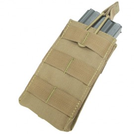 Single M4/M16 open top mag pouch tan