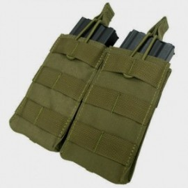 Double M4/M16 open top mag. pouch od