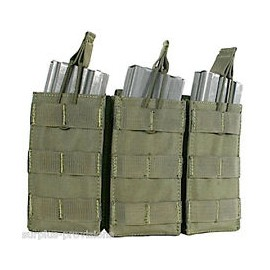 Triple M4/M16 open-top mag. pouch od