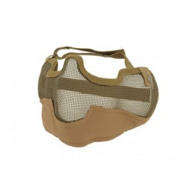 V2 Strike Steel Half Face Mask tan