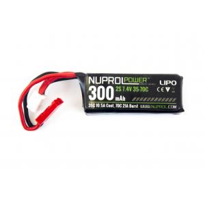 Bateria 7.4V 300mAh Micro (35-70c HPA) Li-Po