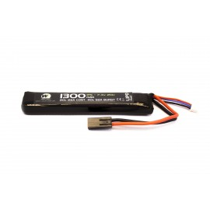 Bateria 7.4v 1300mah 20c 1celula Li-Po