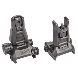 Front & Rear Back-Up Sight Set Gen. 3 bk