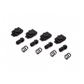HexID System 4pcs Latchplates Followers BlackOut HEXMAG