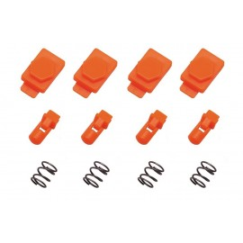 HexID System 4pcs Latchplates Followers orange HEXMAG