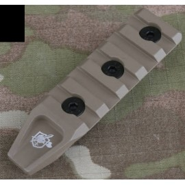 5 Slots Picatinny Rail Section f Key-Mod HandGuard bk