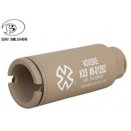 Mini Flash Hider M4 tan