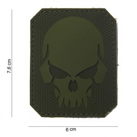 Patch 3D PVC Pirate skull od