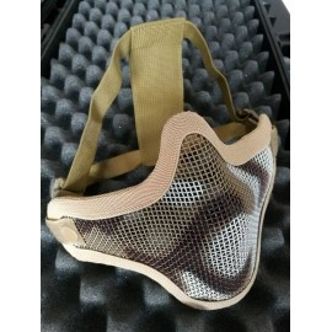 V1 Strike Steel Half Face Mask desert camo [EM]