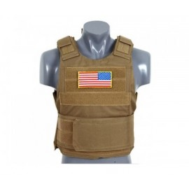 Colete Delta Soft Body Armor tan 8FIELDS