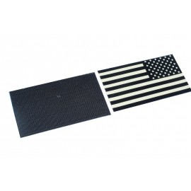 Patch USA Flag Reflective PVC IR Set (Dark)