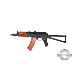 AEG AKS-74UN bateria e magazine JG