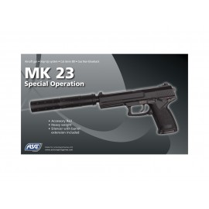Pistola MK23 full GNB [ASG]