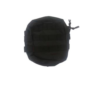 Medium Zipped Util PMC Pouch bk [NUPROL]