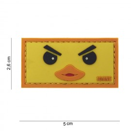 Patch 3D PVC Duckface Yellow