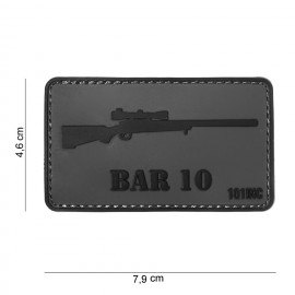 Patch 3D PVC BAR 10