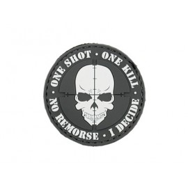 Patch PVC ONE SHOT bk