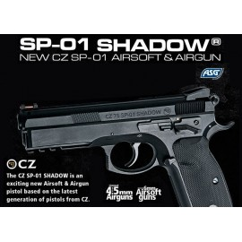 Pistola CZ SP-01 Shadow COMBI [ASG]