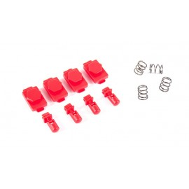 Hexmag HexID LAVA Red (4xHexgon Latchplates/4xFollowers) [Dytac]