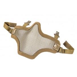 Mask de rede c clip para fast helmet tan