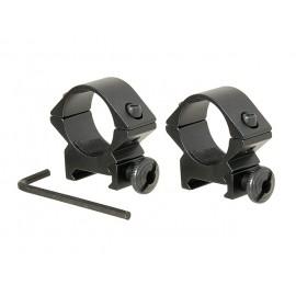 Ring mount 25mm RIS rail [ACM]