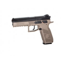 Pistola CZ P-09 4.5mm CO2 tan/bk [ASG]