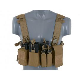 Chest Rig V2 Compact Multi-Mission coyote [8Fields]