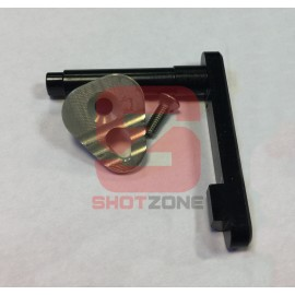 Magazine Catch CNC M4 silver [MCC]