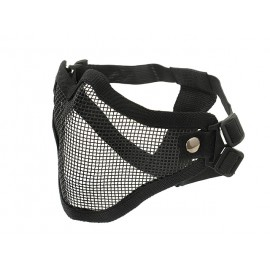 V1 Steel Protective Half Face Mask bk [CS]