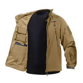 Jacket tactical tan - S