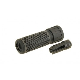 Dummy 5.56 QDC/CQB Sound Suppressor with Flash Hider bk [BD]