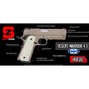 Pistola Desert Warrior 4.3 [Tokyo Marui]