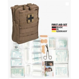 First-Aid Set 43pcs tan