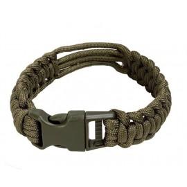 Clock Paracord Survival Bracelet od M
