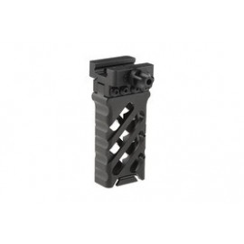 Ultra-Light Aluminium Vertical Grip 45º QD bk [5KU]