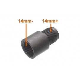 CW to CCW Adapter 14mm Outer Barrel AEG [Shooter]