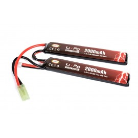 Bateria 7.4v 2000mAh 20-40C (2x 10.2x21x126mm) Li-Po [Ultra Power]