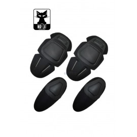 Knee & Elbow Pads Set bk [MadCat]