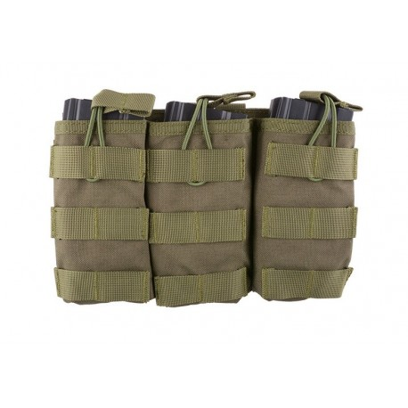Triple Open Pouch for AK/M4/G36 Magazines od [Primal Gear]