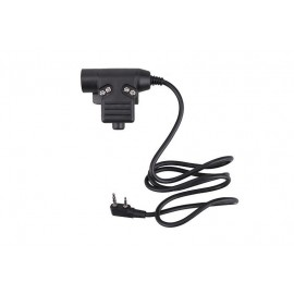PTT Button Military Plug for Kenwood [Dragon]
