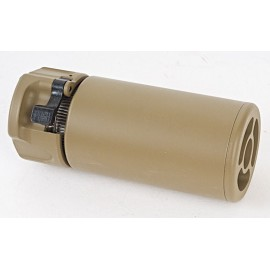 Tactical WARDEN Suppressor 14mm CCW tan [GK Tactical]
