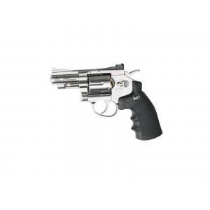 """Revolver 2.5"""" GNB CO2 4.5mm silver [Dan Wesson]"""