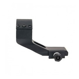 Slanting mount for red dot/scope