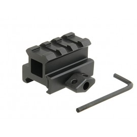 Mini Riser Block Mount 1""